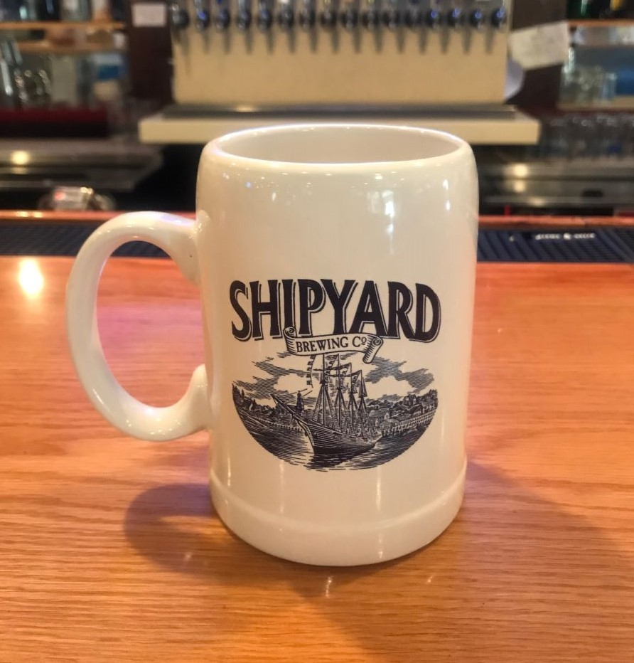 Pat's Pizza Windham Maine Mug Club sponsored by Shipyard Brewing